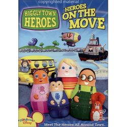 Higglytown Heroes: On The Move (DVD 2007) Historyczne