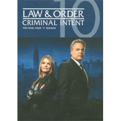 Law & Order: Criminal Intent - The Final Year (DVD 2011)