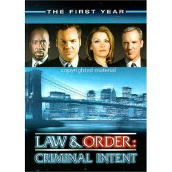 Law & Order: Criminal Intent - The First Year (DVD 2003)