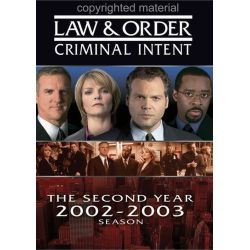 Law & Order: Criminal Intent - The Second Year (DVD 2002)