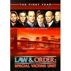 Law & Order: Special Victims Unit - The First Year (DVD 1999)