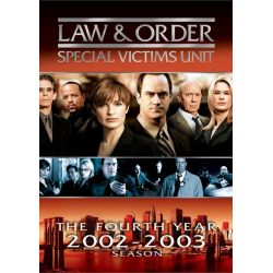 Law & Order: Special Victims Unit - The Fourth Year (DVD 2002)