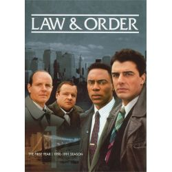 Law & Order: The First Year (Repackage) (DVD 1990)