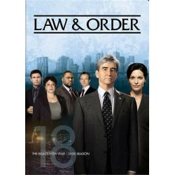 Law & Order: The Eighteenth Year (DVD)