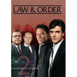 Law & Order: The Second Year (Repackage) (DVD 1991)