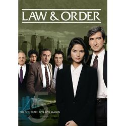 Law & Order: The Fifth Year (Repackage) (DVD 1994)
