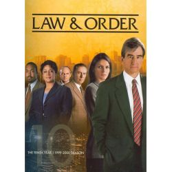 Law & Order: The Tenth Year (DVD 1999)