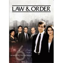 Law & Order: The Sixth Year (Repackage) (DVD)