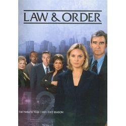 Law & Order: The Twelfth Year (DVD 2001)