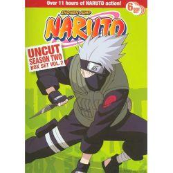 Naruto: Season 2 - Volume 2 (Uncut) (DVD 2002)