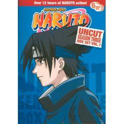 Naruto: Season 3 - Volume 1 (Uncut) (DVD 2002)