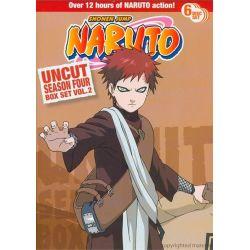 Naruto: Season 4 - Volume 2 (Uncut) (DVD 2004)