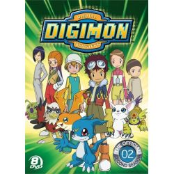 Official Digimon Adventure Set, The: The Complete Second Season (DVD)