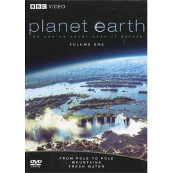 Planet Earth: From Pole To Pole / Mountains / Fresh Water (DVD 2007)