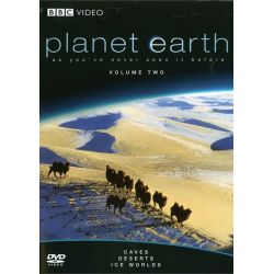 Planet Earth: Caves / Deserts / Ice Worlds (DVD 2007)