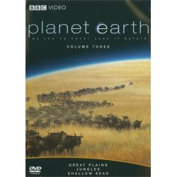 Planet Earth: Great Plains / Jungles / Shallow Seas (DVD 2007)