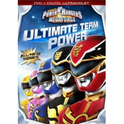 Power Rangers Mega: Ultimate Team Power (DVD + UltraViolet) (DVD 2013)