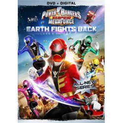 Power Rangers Super Mega: Earth Fights Back (DVD + UltraViolet) (DVD 2014)