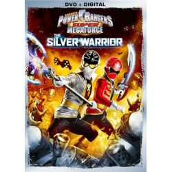Power Rangers Super Mega: The Silver Warrior (DVD + UltraViolet) (DVD 2014)