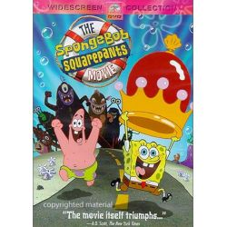 SpongeBob SquarePants Movie, The (Widescreen) (DVD 2004)