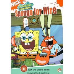 SpongeBob SquarePants: Sponge For Hire (DVD 2004)