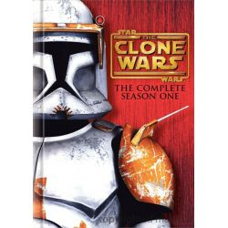 Star Wars: The Clone Wars - The Complete Season One (DVD 2008)