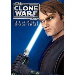 Star Wars: The Clone Wars - The Complete Season Three (DVD 2010)