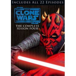 Star Wars: The Clone Wars - The Complete Season Four (DVD)