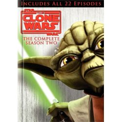Star Wars: The Clone Wars - The Complete Season Two (DVD 2009)