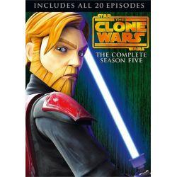 Star Wars: The Clone Wars - The Complete Season Five (DVD 2012)