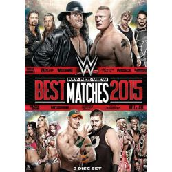 WWE: Best PPV Matches 2015 (DVD 2015)