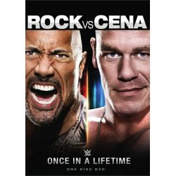 WWE: The Rock VS. Cena (DVD 2014)