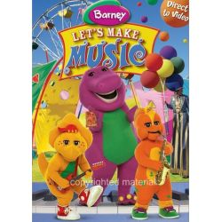 Barney: Let's Make Music! (DVD 2006) Filmy