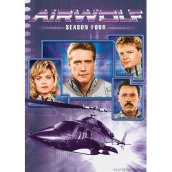 Airwolf: Season Four (DVD 1987) Filmy
