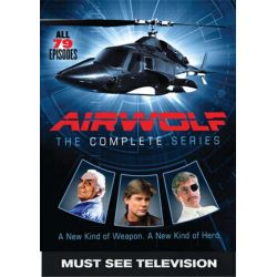 Airwolf: The Complete Series (DVD 1984) Filmy