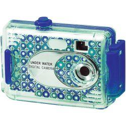 Vivitar AquaShot Underwater Digital Camera 26693-BLUE-KM B&H Fotografia