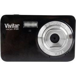 Vivitar ViviCam S131 Digital Camera (Black) VS131-BLACK B&H Fotografia