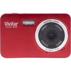 Vivitar ViviCam S131 Digital Camera (Red) VS131-RED B&H Photo Fotografia