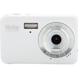 Vivitar ViviCam S131 Digital Camera (White) VS131-WHT B&H Photo Fotografia