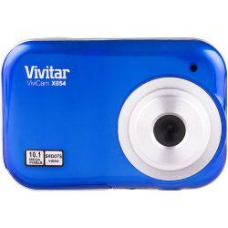 Vivitar ViviCam X054 Digital Camera (Blue) VX054-BLUE B&H Photo Fotografia