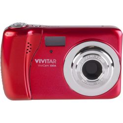 Vivitar ViviCam XX14 Digital Camera (Red) VXX14-RED-WM B&H Photo Fotografia