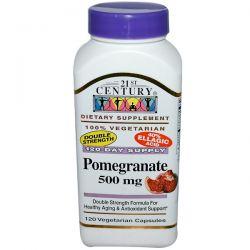 21st Century, Pomegranate, 500 mg, 120 Veggie Caps Historyczne