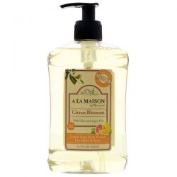 A La Maison de Provence, Liquid Soap For Hand & Body, Citrus Blossom, 16.9 fl oz (500 ml) Pozostałe