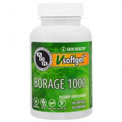 Advanced Orthomolecular Research AOR, Borage 1000 , 90 Softgels