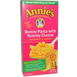 Annie's Homegrown, Macaroni & Cheese, Bunny Pasta with Yummy Cheese, 6 oz (170 g) Historyczne
