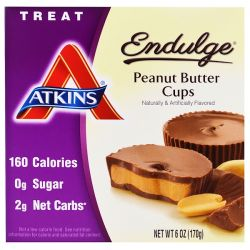 Atkins, Endulge, Peanut Butter Cups, 5 Packs, 1.2 oz (34 g) Each Country