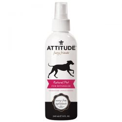 ATTITUDE, Furry Friends, Natural Pet Fur Detangler, Coconut Lime, 8 fl oz (240 ml) Zdrowie, medycyna