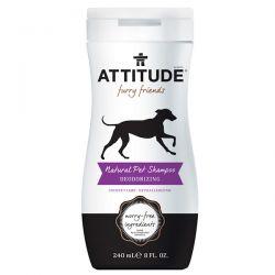 ATTITUDE, Furry Friends, Natural Pet Shampoo, Deodorizing, Coconut Lime, 8 fl oz (240 ml) Zdrowie, medycyna