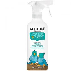 ATTITUDE, Little Ones, Concentrated Fabric Refresher, Fragrance Free, 16 fl oz (475 ml) Zdrowie, medycyna