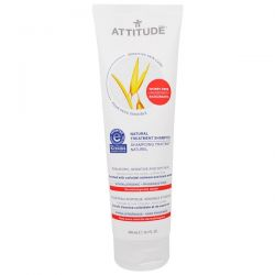 ATTITUDE, Sensitive Skin Care, Natural Treatment Shampoo, 8.1 fl oz (240 ml)